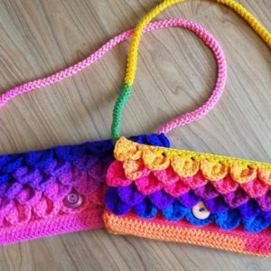 dragon scale crochet pattern archives hooked by kati